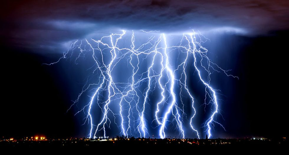 Lightning strikes will increase due to climate change, study finds
