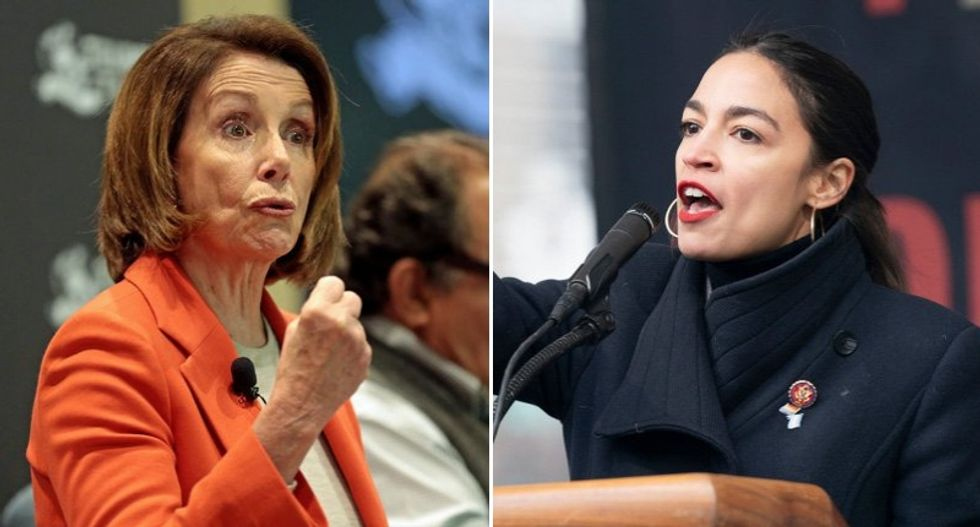 Pelosi and Ocasio-Cortez chew out House Dems who vote with the GOP in tense closed-door meeting: report