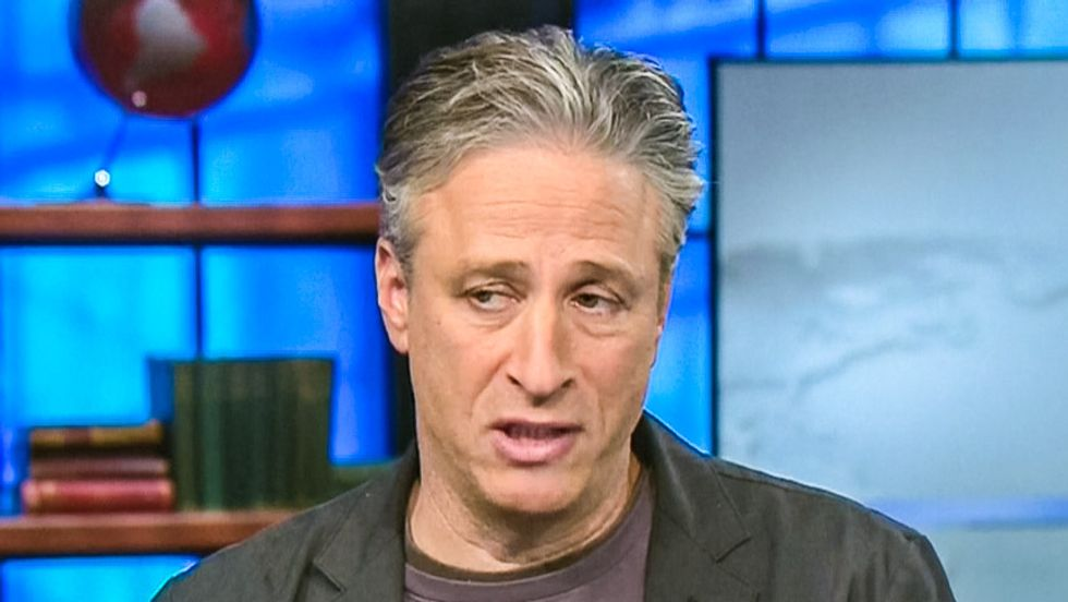Jon Stewart tells CNN host: Your network is like 'the doll Chucky... watch out for bad Chucky'