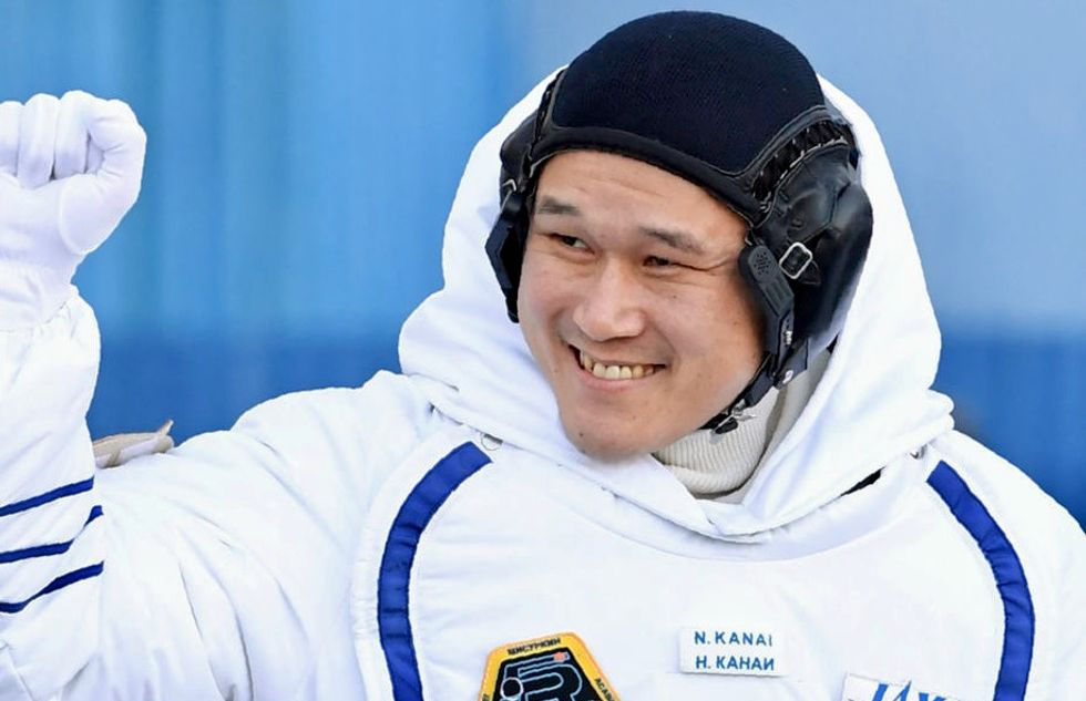 Japanese astronaut apologizes for 'fake news' of height increase