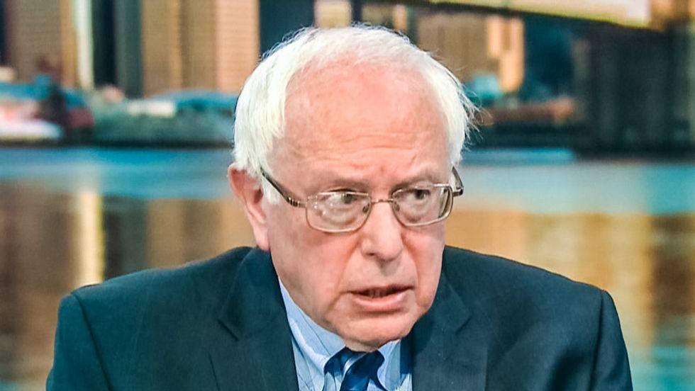 Sen. Bernie Sanders savages GOP's vision for America in 'litmus test' of presidential run