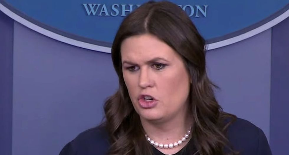 WATCH LIVE: White House press secretary Sarah Huckabee Sanders holds press briefing