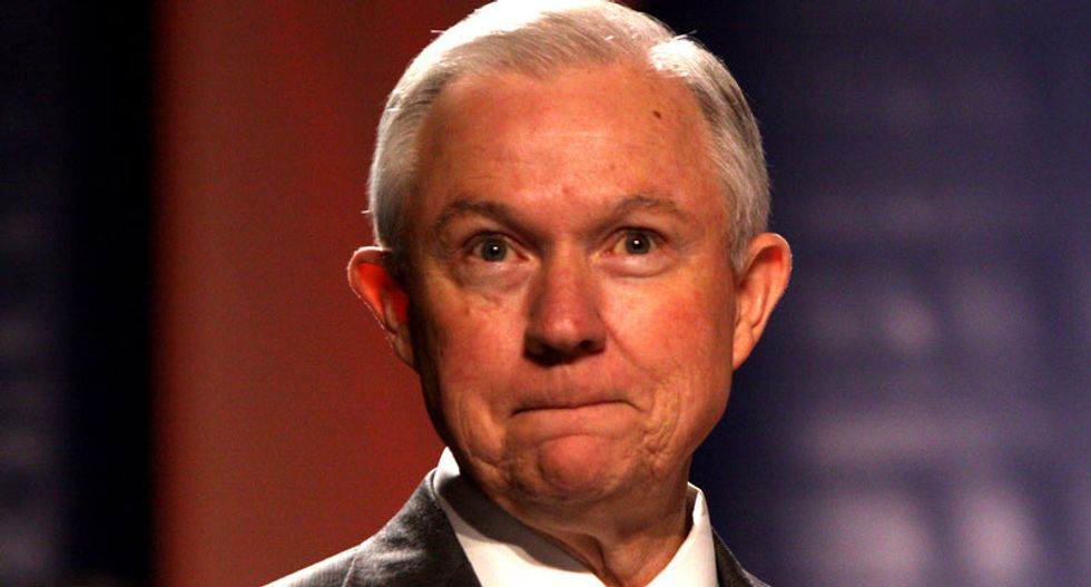 Did Jeff Sessions forget about how he wanted to execute pot dealers?