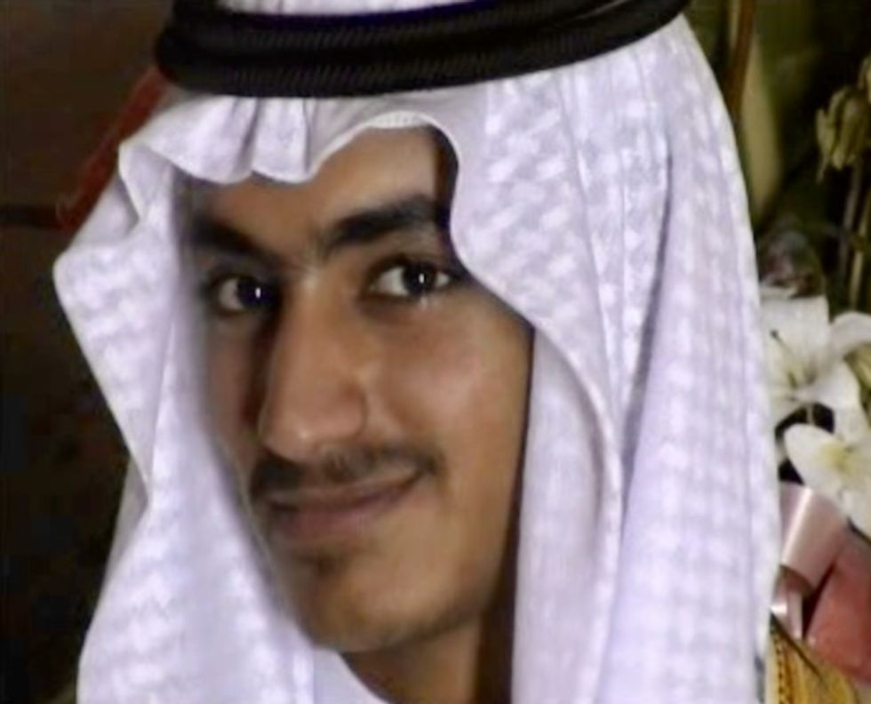 US offers $1 million reward to find bin Laden son