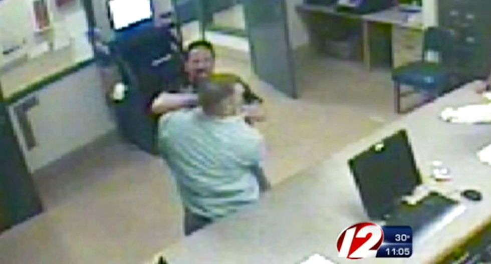 Caught on tape: Mass. police officer with history of abuse complaints attacks suspect