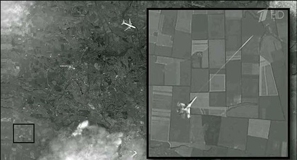 Russian TV promoted faked photo of Malaysia Airlines MH17 shoot-down: 'It came from the Internet'