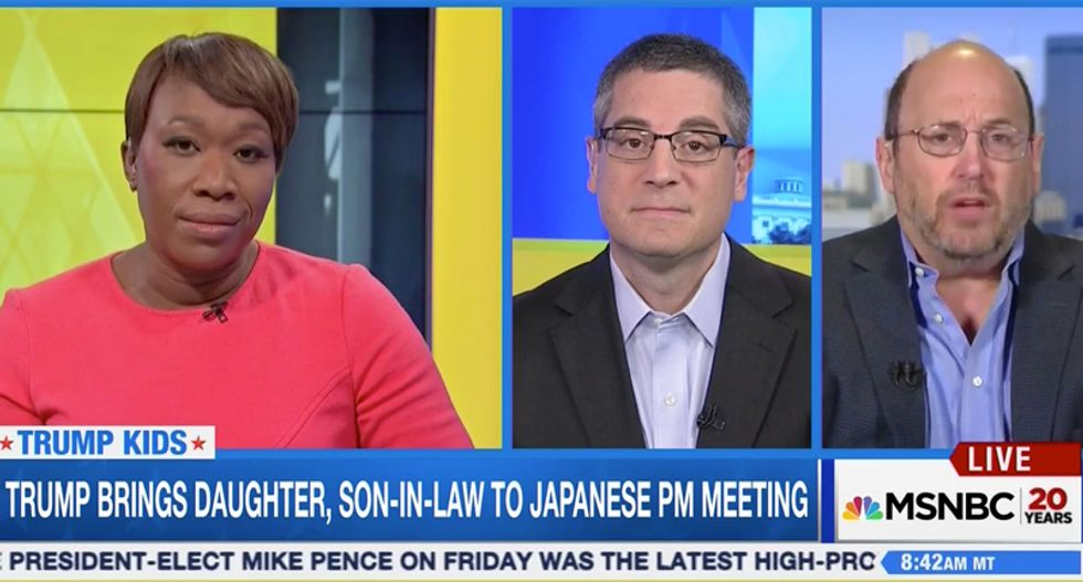 AM Joy panel: Trump will manipulate foreign policy so that he and his kids can reap billions