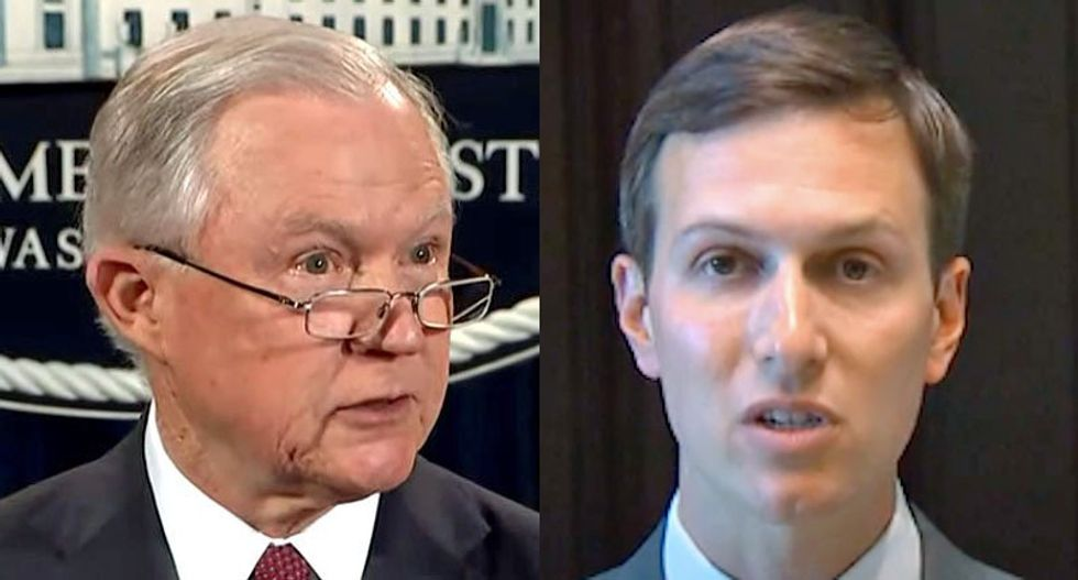 'The issue is personal for Kushner': Jared and Jeff Sessions to launch prison 'reform' listening tour
