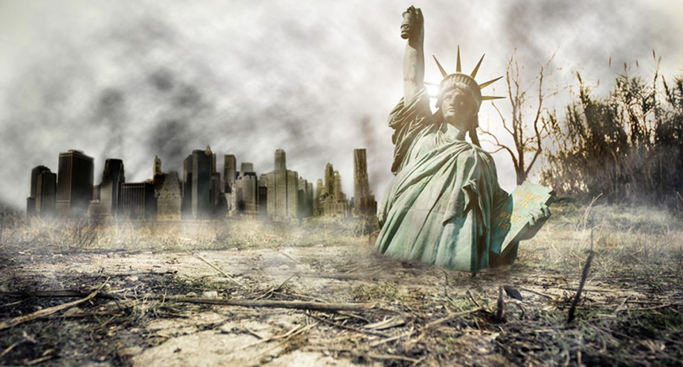 Here's how the US empire will devolve into fascism and then collapse — according to science