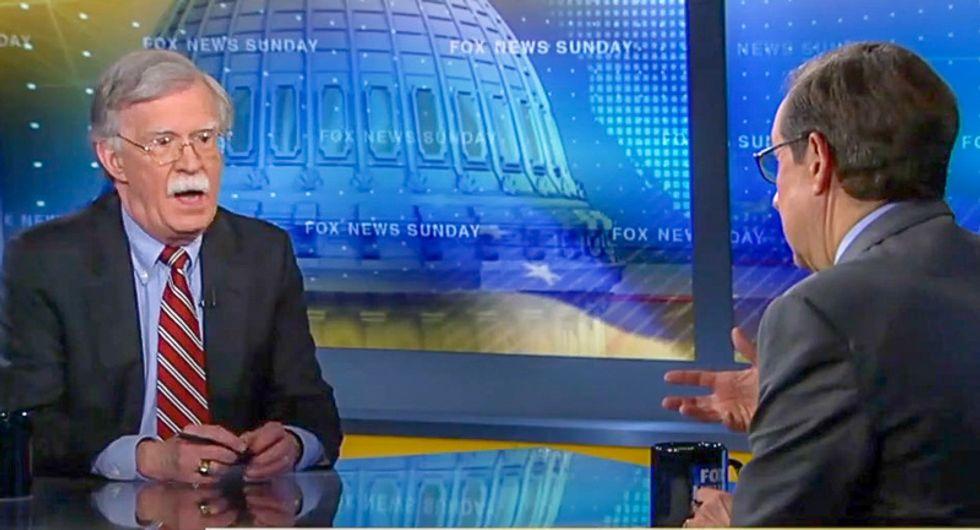 'Failed summit': Fox News host Chris Wallace calls North Korea meeting a disaster to John Bolton's face