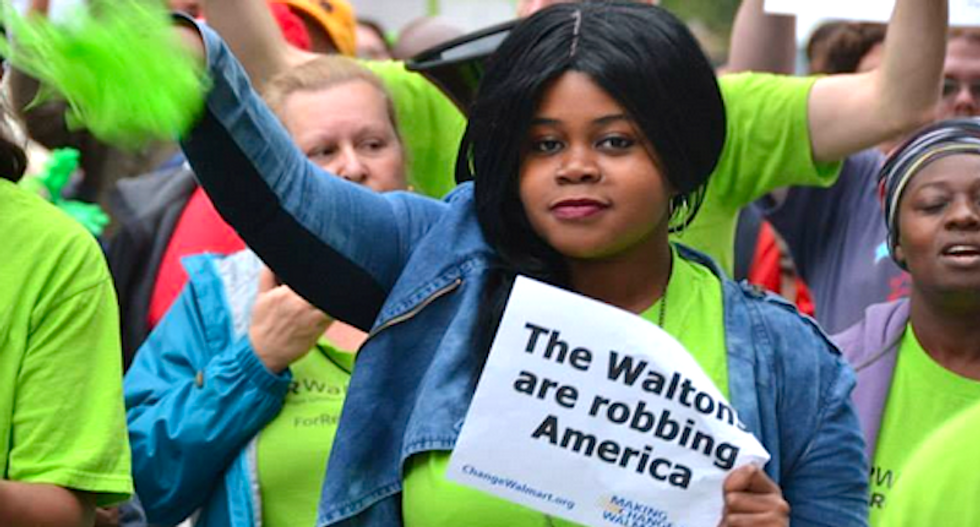 Walmart got a $2.2 billion tax cut -- now it's laying off workers