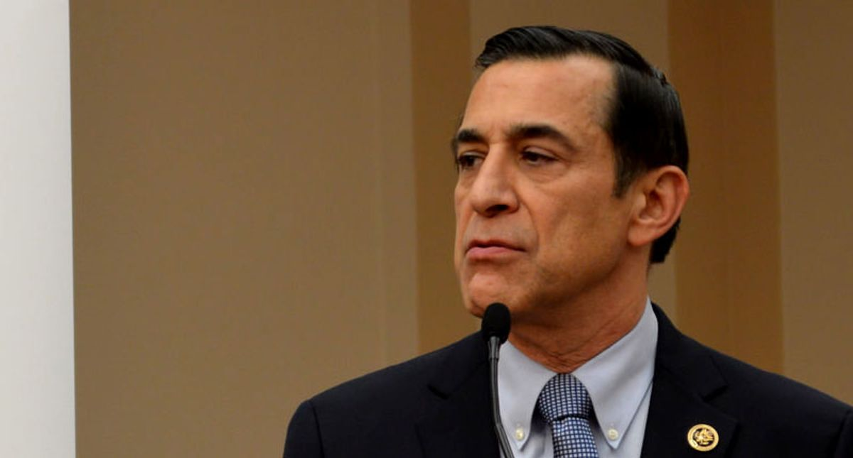 Thanks to Trump Republican Darrell Issa might lose the seat in Congress that he just won back: columnist