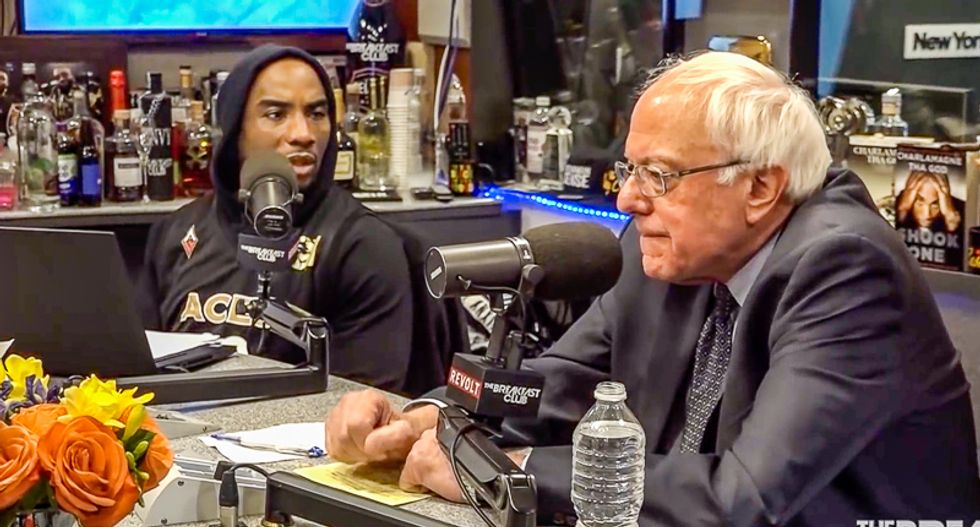 Black radio hosts grill Bernie Sanders: '44 out of 45 presidents have been white men -- do we need another one?'