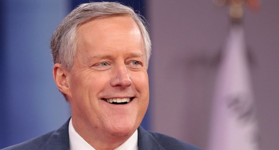 Here's the perturbing reason right-wing buffoon Mark Meadows ended up in Congress