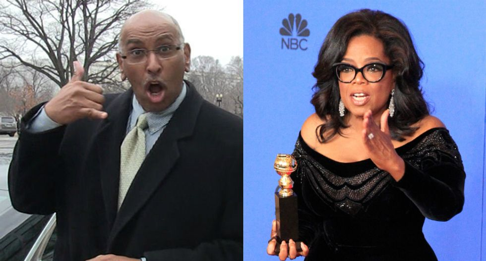 Ex-RNC chair Michael Steele isn't ruling out helping Oprah run for president in 2020: 'Call me!'