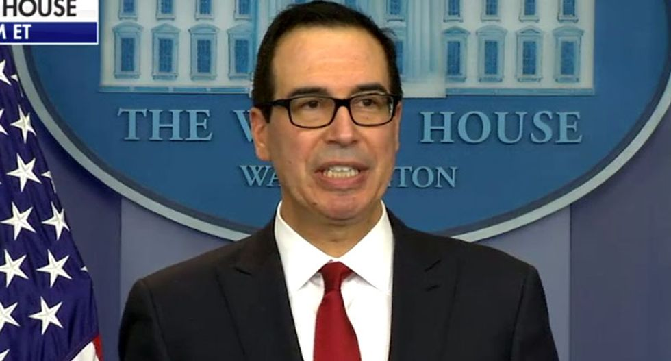 Treasury Department bars larger firms from small business loan program after uproar