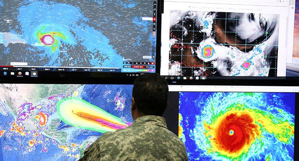 Hurricane Irma moves away from Barbuda -- eyes Florida: NHC