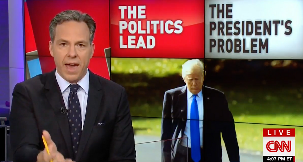 CNN's Jake Tapper reveals the one Trump expression he agrees with