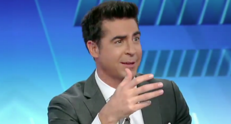 Fox News host: Dem congresswomen targeted by Trump's racism held presser just to 'pout'
