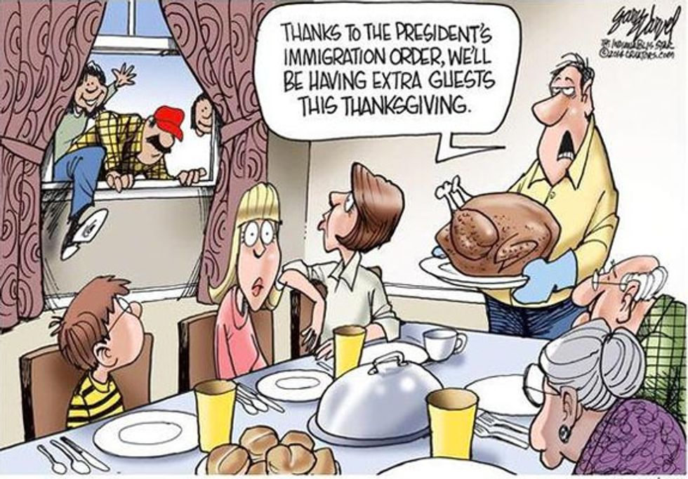 Indianapolis newspaper alters, then deletes racist Thanksgiving cartoon following complaints