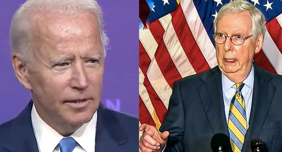 Here's how Biden aims to get around Mitch McConnell paralyzing his executive agencies