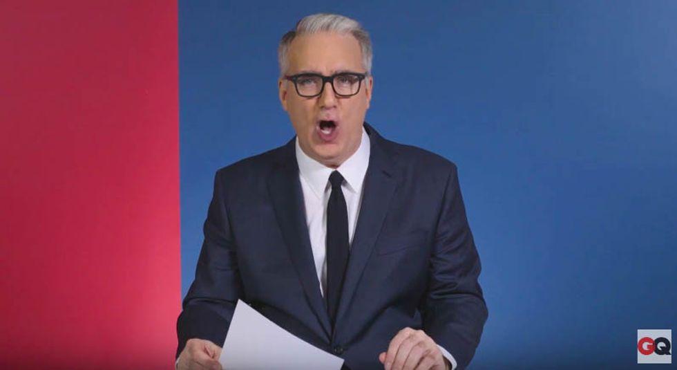 Olbermann slams 'lunatic president and his amoral flying monkeys' — including 'Kellyanne Con-Job'