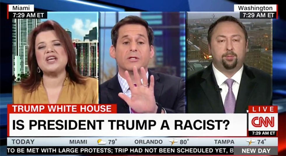 WATCH: 'Pissed-off' Ana Navarro goes nuclear on 'buffoon' Trump apologist over 'sh*thole' remarks