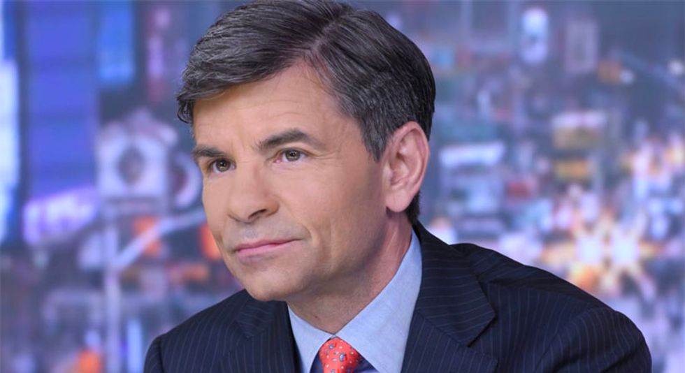 ABC's Stephanopoulos slaps own network for 'sugarcoating' Trump's racism and bleeping 'sh*thole'