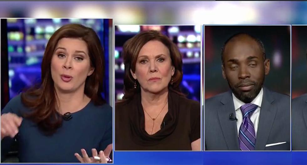 CNN's Erin Burnett shuts down conservative Paris Dennard when he claims 'sh*thole' remark isn't authentic