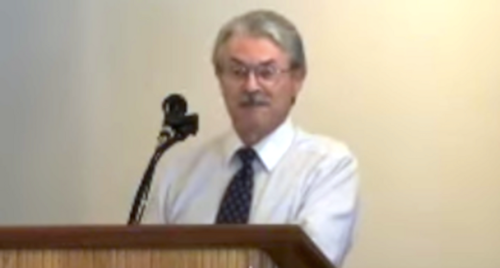 White supremacist 'Christian Identity' pastor begs Trump to crack down on Jews