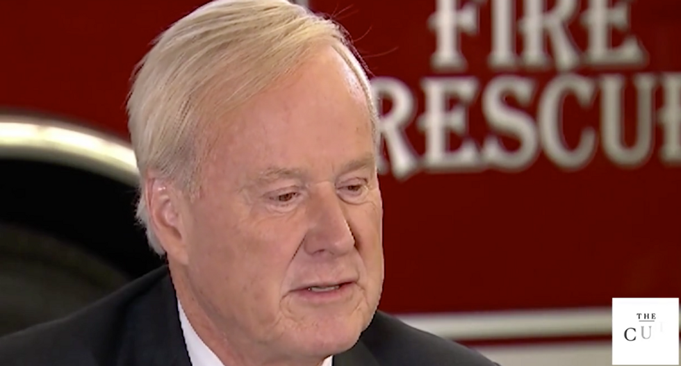 'Where's that Bill Cosby pill?': Watch Chris Matthews prepare for an interview with Hillary Clinton by joking about rape