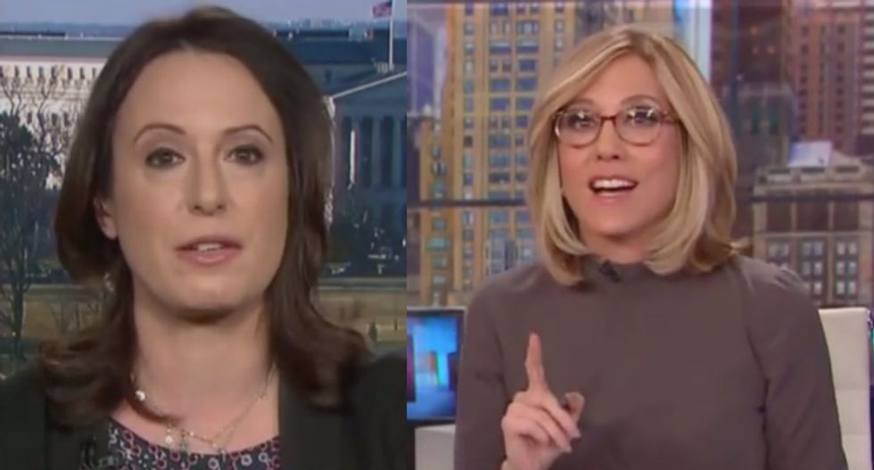 'That is absurd': CNN host explodes at reporter Maggie Haberman for normalizing Trump's hush money payoffs