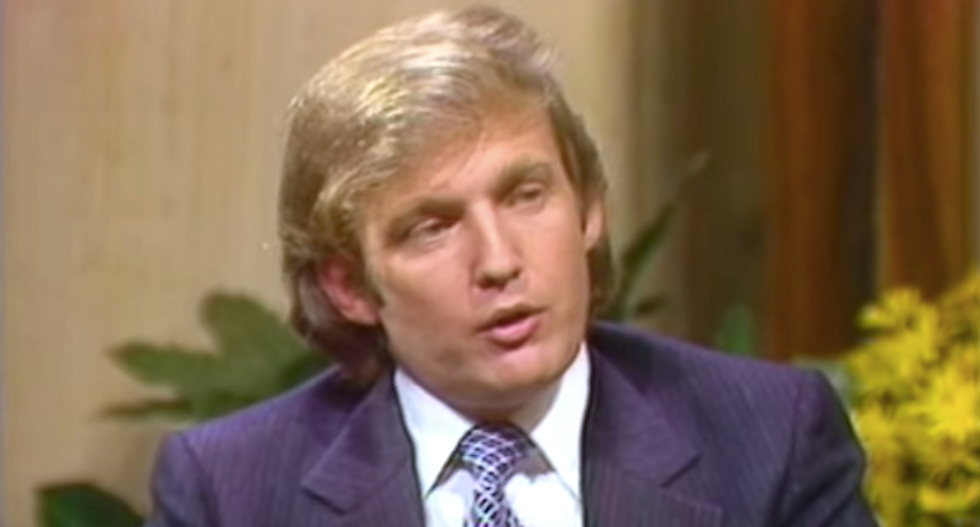 Here is how businessman Donald Trump created his own 'fake news' back in the 80's