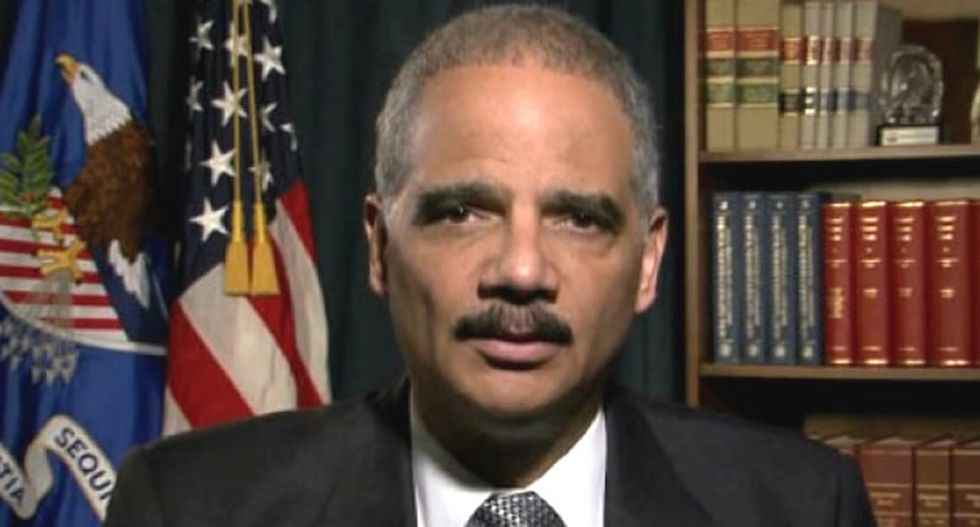 Eric Holder, former US attorney general, to return to law firm