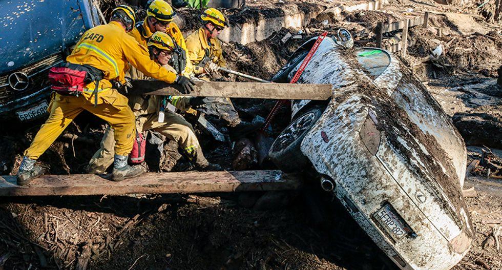Celebrity getaway San Ysidro Ranch decimated by California mudslides