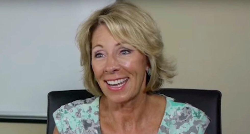 Education pick DeVos' code words for creationism raise teacher concerns about 'junk science'