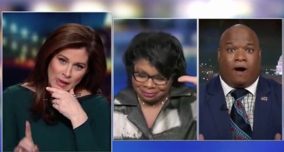 CNN panel devolves into screaming match when televangelist offers biblical defense for Trump's 'sh*thole' comment