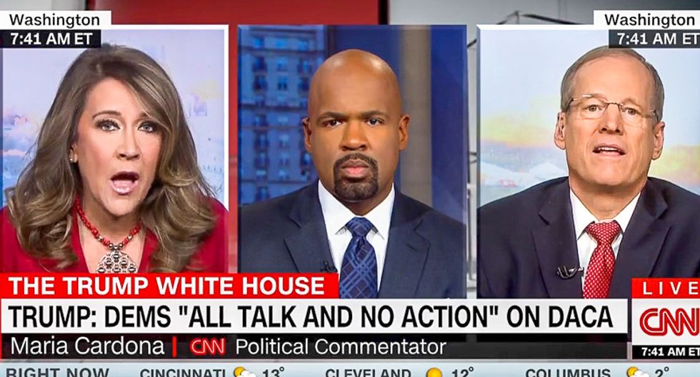 'That's un-American': CNN pundit lays waste to Trump surrogate who says Trump must end birthright citizenship