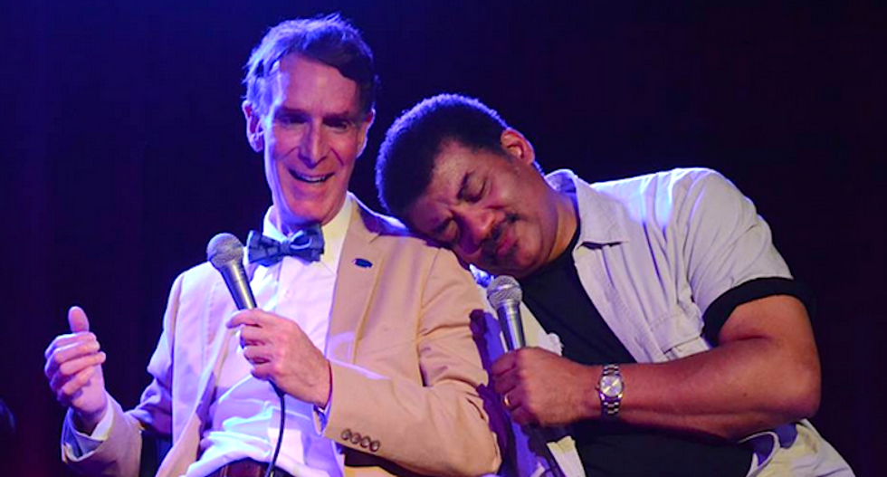 Can popular scientists like Bill Nye or Neil deGrasse Tyson save the world?