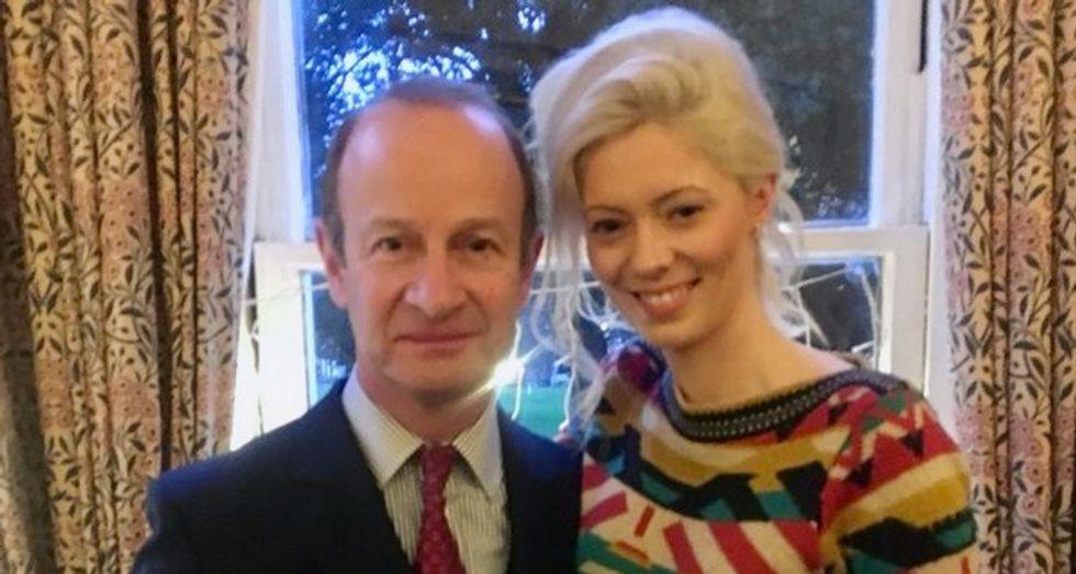 UKIP leader dumps lover over racist royal slur