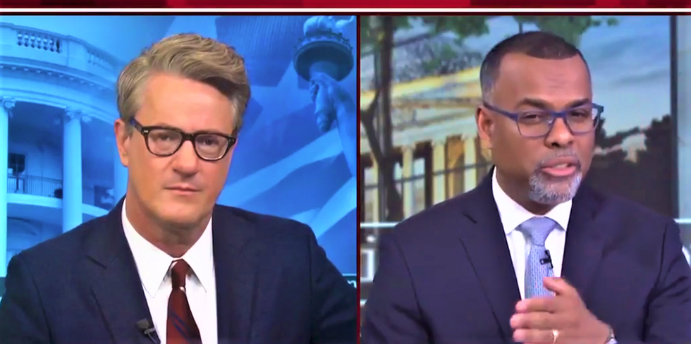 'Morning Joe' panel: Trump supporters are throwing democracy 'in the trash' in the name of racist 'culture war'