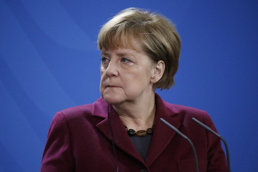 Angela Merkel says fight against terrorism no excuse for U.S. entry ban