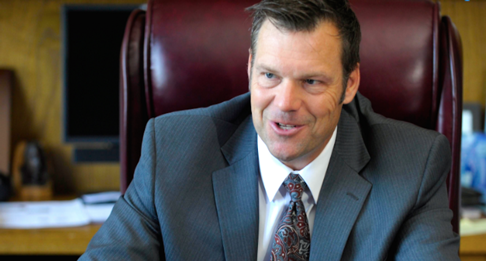 Judge says no decision for at least a month in Kris Kobach's Kansas voter ID case