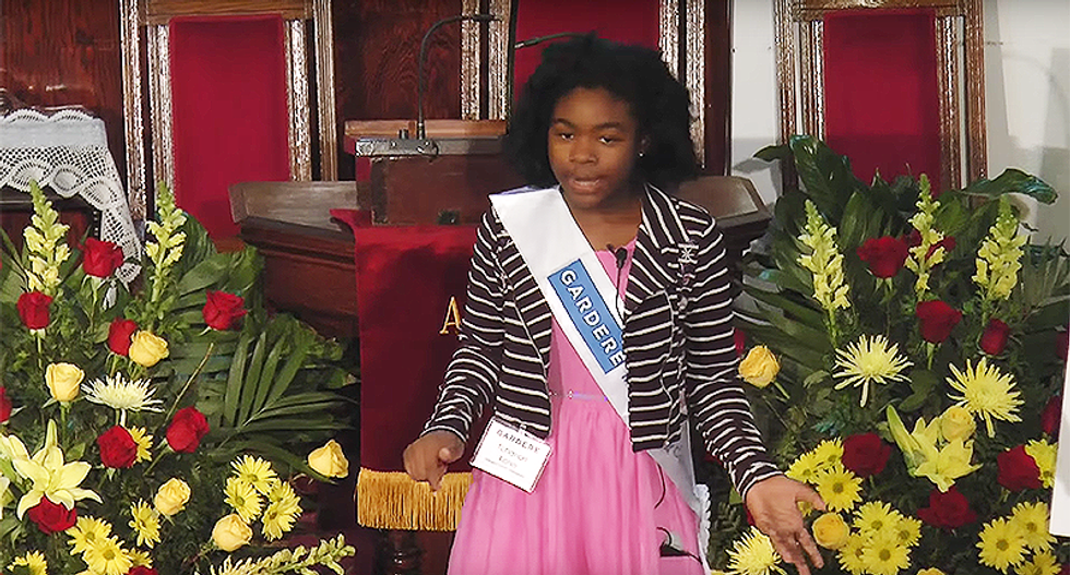 WATCH: Fifth-grader delivers jaw-dropping Martin Luther King, Jr. speech calling for an end to poverty and homelessness