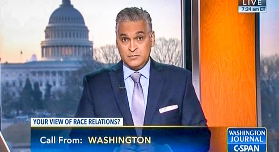 C-SPAN caller claims Obama 'started' racism by 'stirring up' trouble: 'Our black people have a good life'