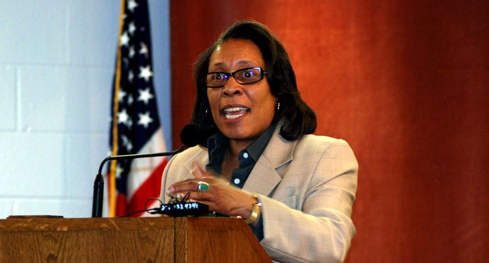 Black congresswoman: Decision not to indict Darren Wilson was a 'slap in our face'