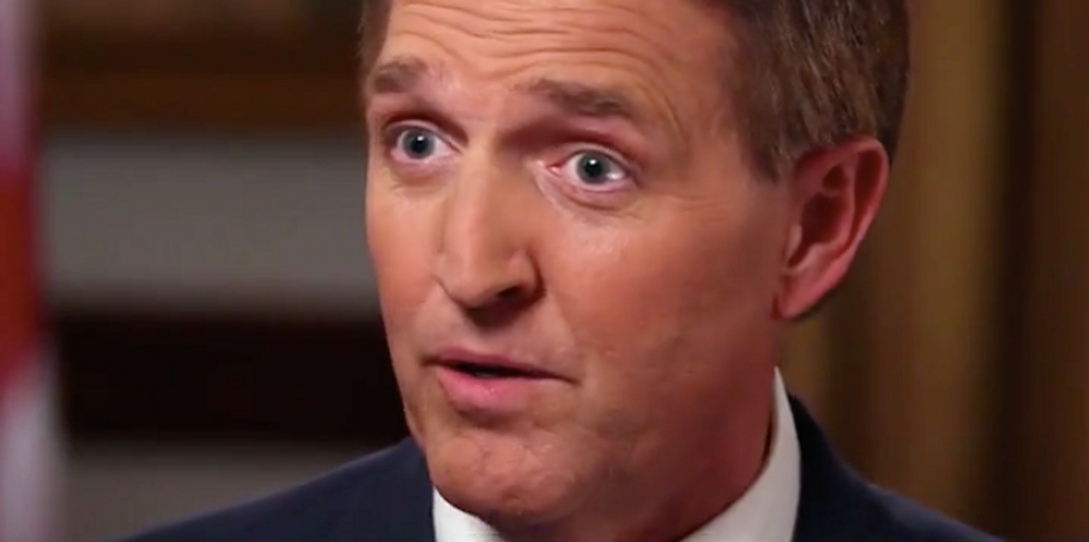 Jeff Flake warns Trump: If you fire Mueller 'our only constitutional remedy is through impeachment'