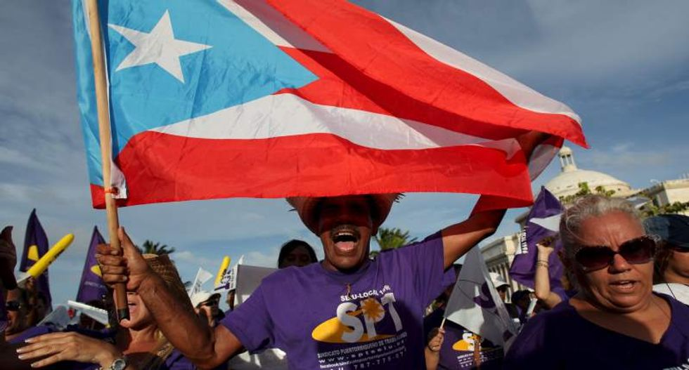 Thousands of Puerto Rican workers protest new austerity plan: 'All we have is our human resources'