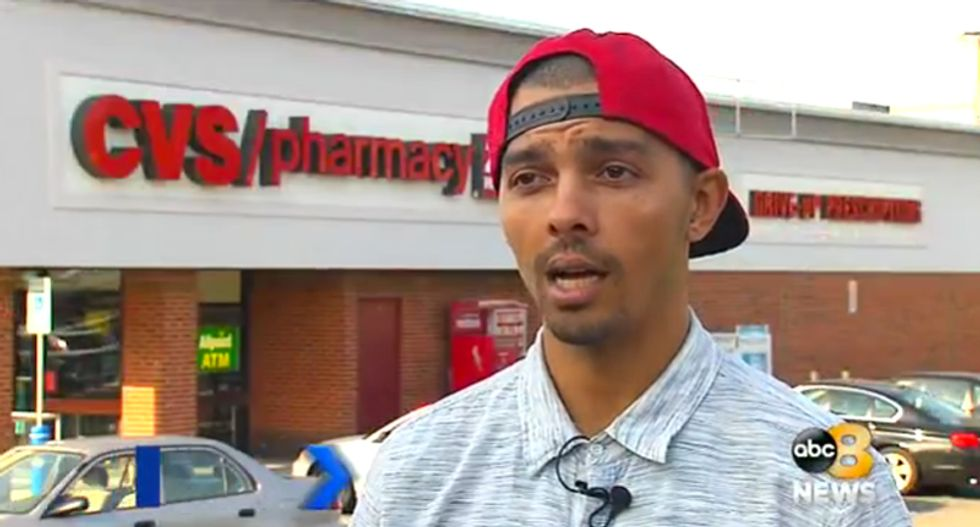CVS employees lock themselves in backroom and call police after black customer asks to buy cheese