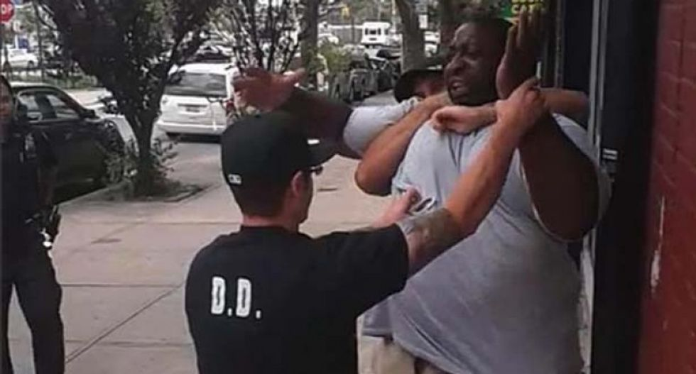New York police ready to act in chokehold case - will not keep waiting for US